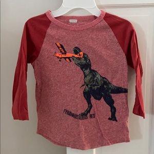 J.Crew dinosaur tee